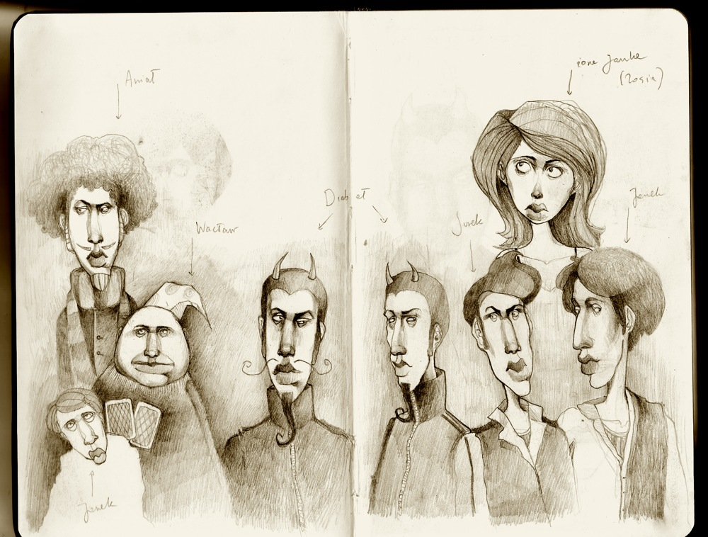 Myjkolada's Sketchbook